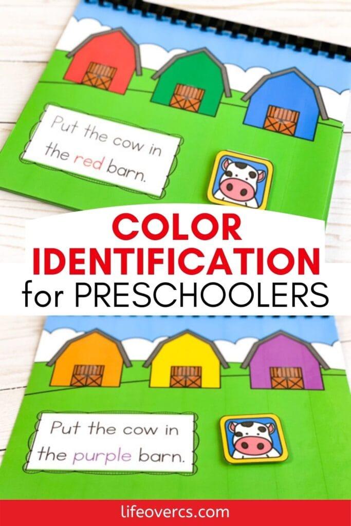 Farm Theme Color Identification For Preschoolers