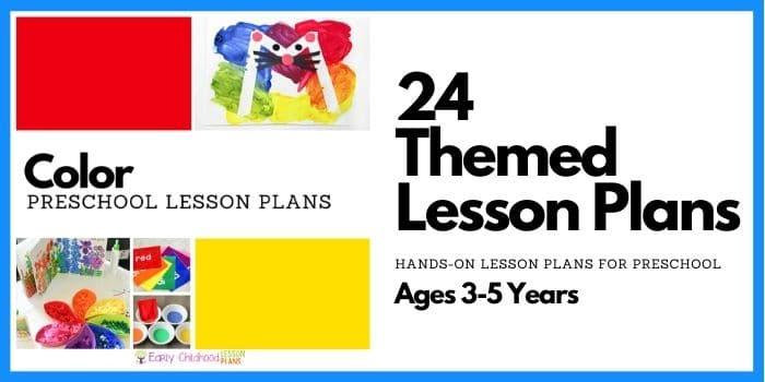 Color Theme Preschool Lesson Plans
