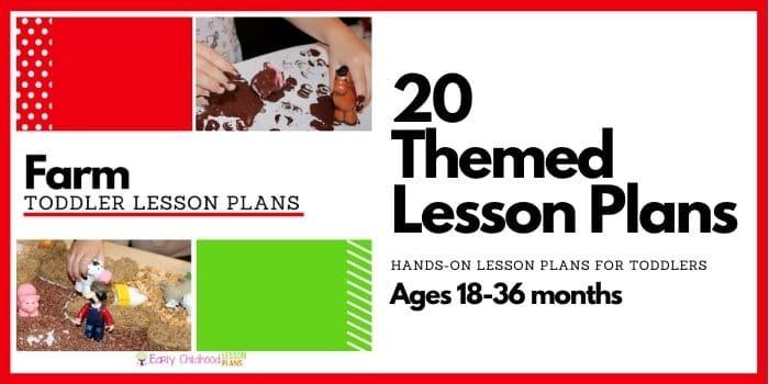 Toddler Farm Theme Lesson Plans