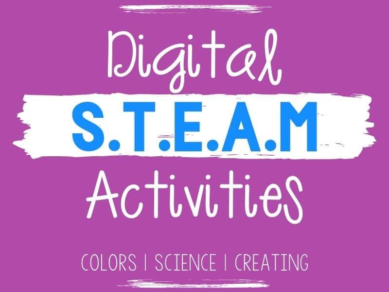 STEAM digital activities