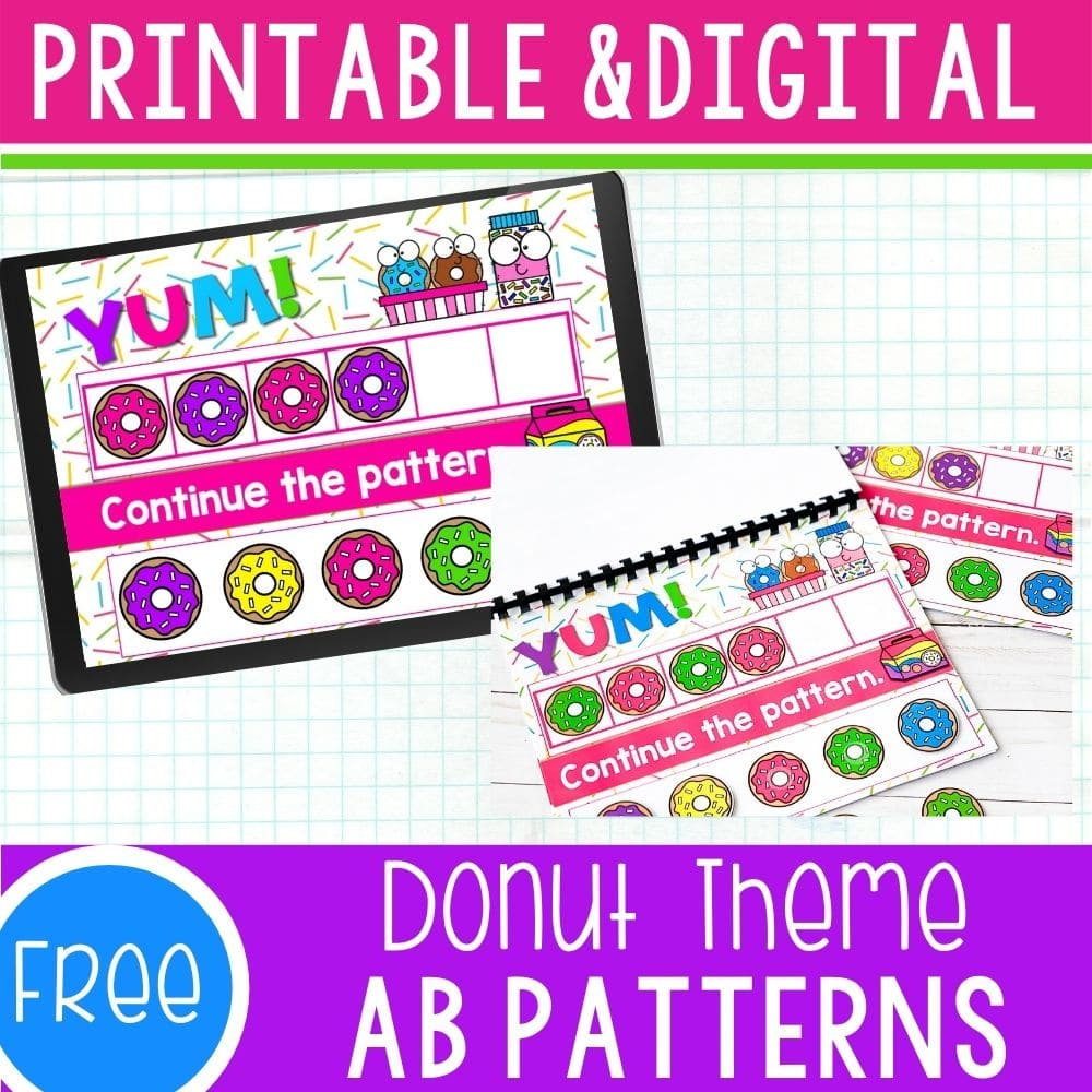 Donut Theme AB Patterns featured square image